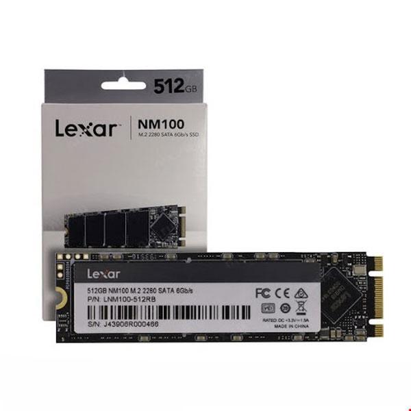 SSD 512GB M.2 LEXAR NM100